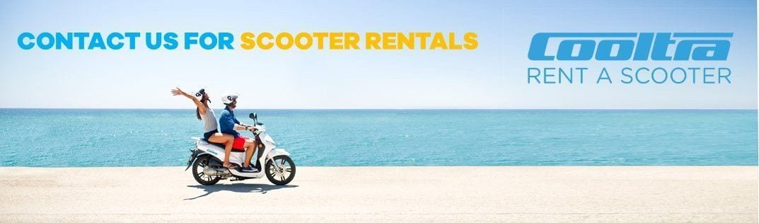 Contact us for scooter rentals - Cooltra